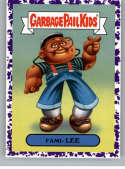 2019 Topps Garbage Pail Kids We Hate the '90s TV Stickers B Jelly Purple #6 FAMI- LEE  Peelable Collectible Trading Sticker Card (Family Matters)