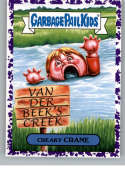2019 Topps Garbage Pail Kids We Hate the '90s TV Stickers B Jelly Purple #13 CREAKY CRANE  Peelable Collectible Trading Sticker Card (Dawson's Creek)