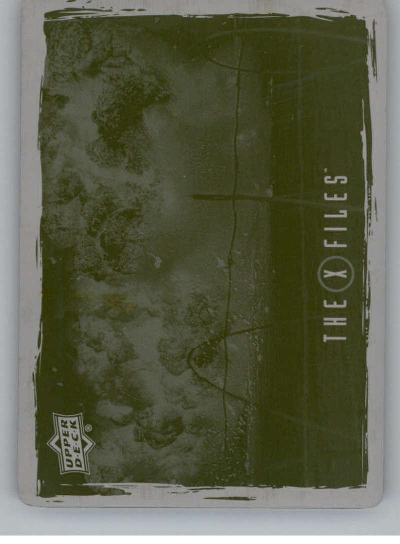 X Files UFOs /& Aliens Sticker Card S-3 Pilot Bellefleur Oregon
