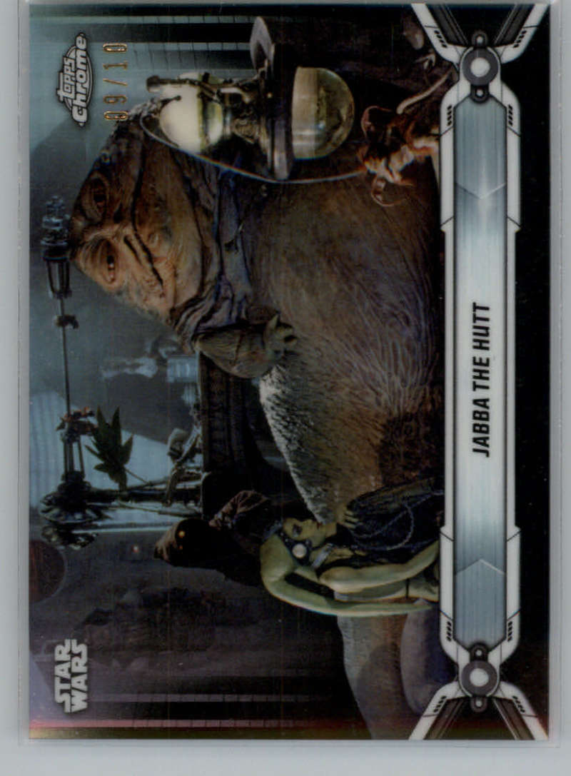 2019 Topps Chrome Star Wars Legacy Refractors Black