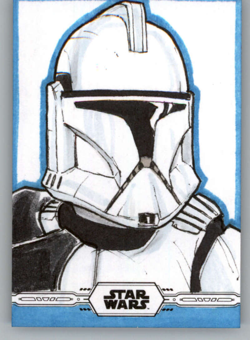 2019 Topps Chrome Star Wars Legacy Sketch Cards