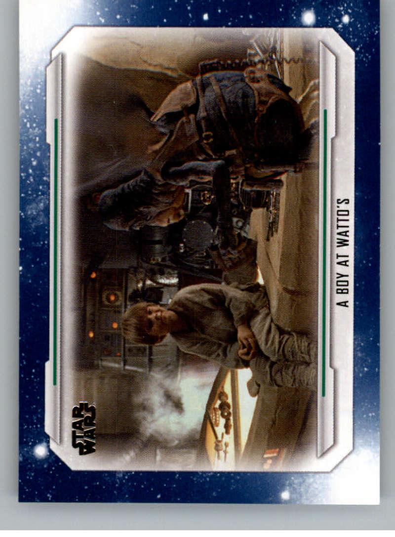 2019 Topps Star Wars Skywalker Saga Blue