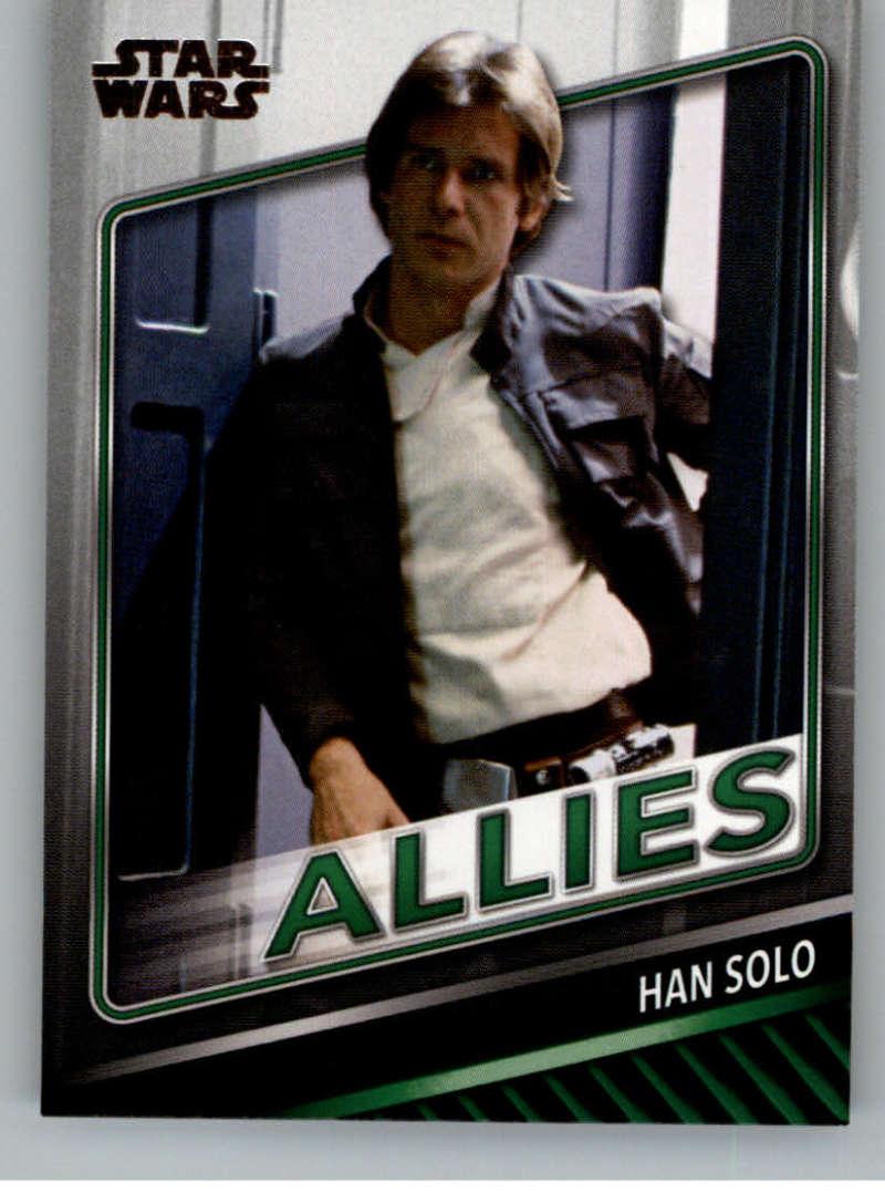 2019 Topps Star Wars Skywalker Saga Allies