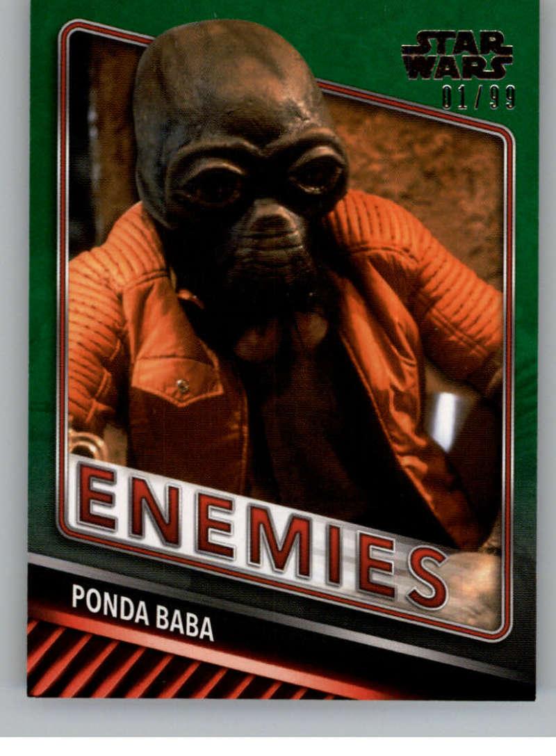 2019 Topps Star Wars Skywalker Saga Enemies Green