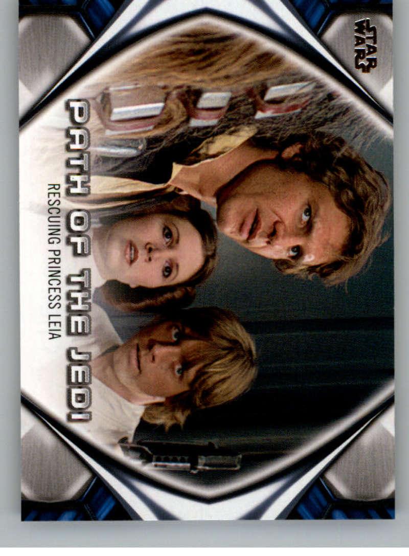 2019 Topps Star Wars Skywalker Saga Path of the Jedi