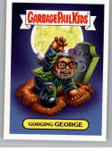 2019 Topps Garbage Pail Kids Revenge of Oh, The Horror-ible Horror Personality Stickers #6A GORGING GEORGE Series Two Co