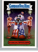 2019 Topps Garbage Pail Kids Revenge of Oh, The Horror-ible Modern Horror Stickers #5A SPARKLING SPAULDING Series Two Co