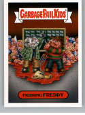 2019 Topps Garbage Pail Kids Revenge of Oh, The Horror-ible Slasher Film Stickers #5A FIGURING FREDDY Series Two Collect