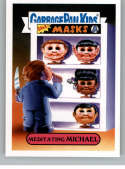2019 Topps Garbage Pail Kids Revenge of Oh, The Horror-ible Slasher Film Stickers #7A MEDITATING MICHAEL Series Two Coll