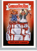 2019 Topps Garbage Pail Kids Revenge of Oh, The Horror-ible Slasher Film Stickers #2B TIFFANY TOPPER Series Two Collecti