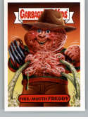 2019 Topps Garbage Pail Kids Revenge of Oh, The Horror-ible Slasher Film Stickers #10B FOUL-MOUTH FREDDY Series Two Coll
