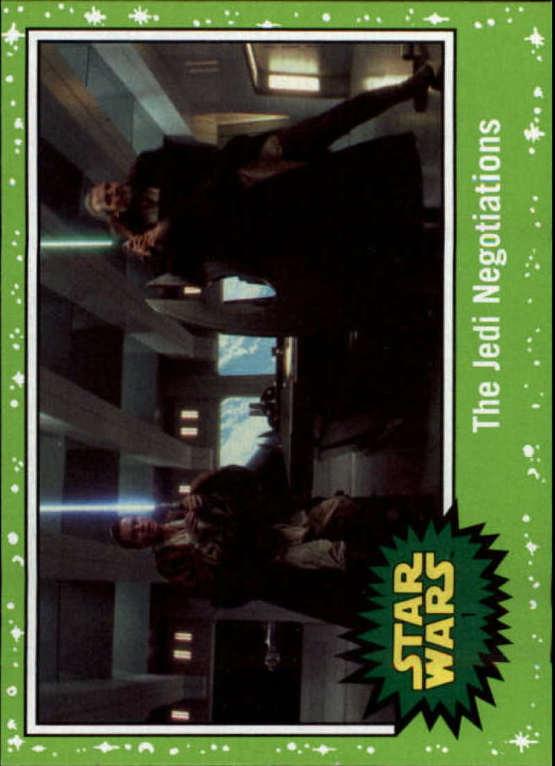2019 Topps Star Wars Journey to Rise of Skywalker Green