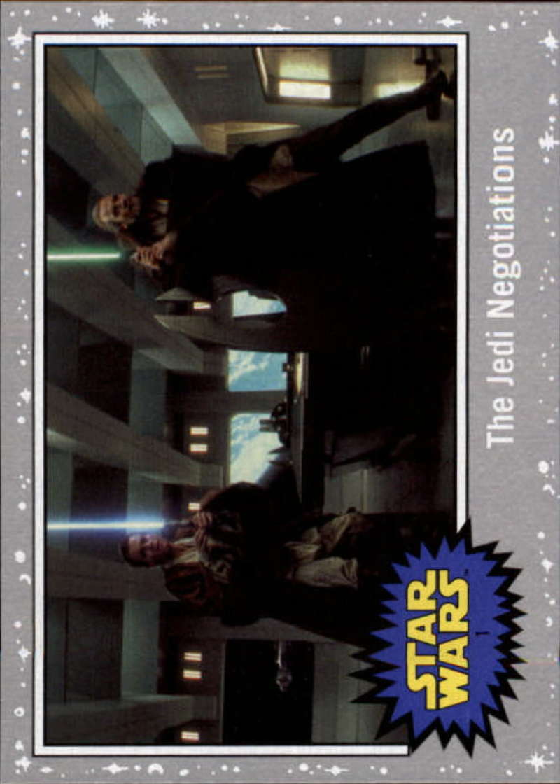 2019 Topps Star Wars Journey to Rise of Skywalker Silver