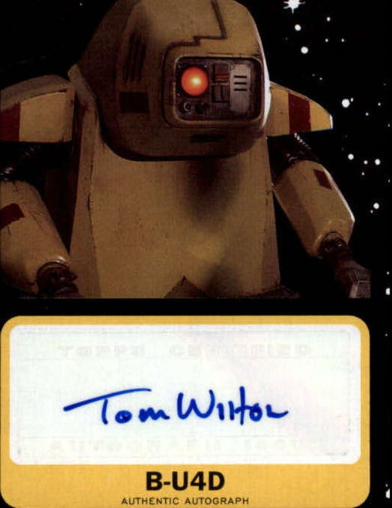 2019 Topps Star Wars Journey to Rise of Skywalker Autographs Black