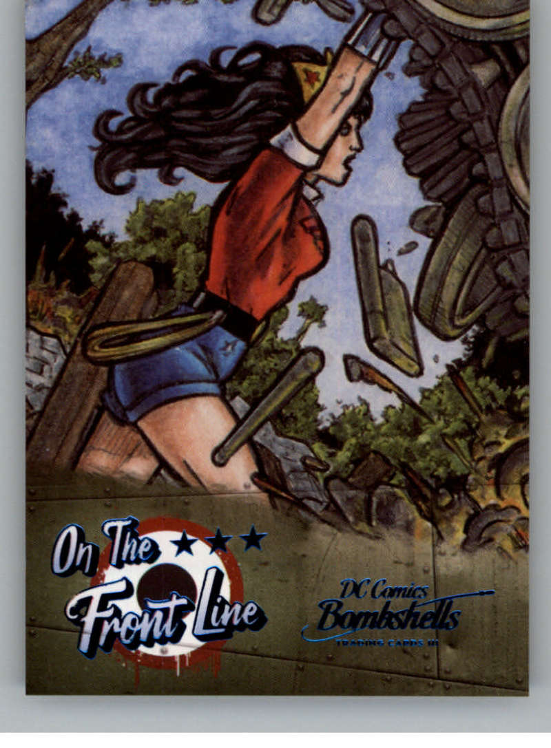2019 Cryptozoic DC Bombshells Series 3 On the Front Line