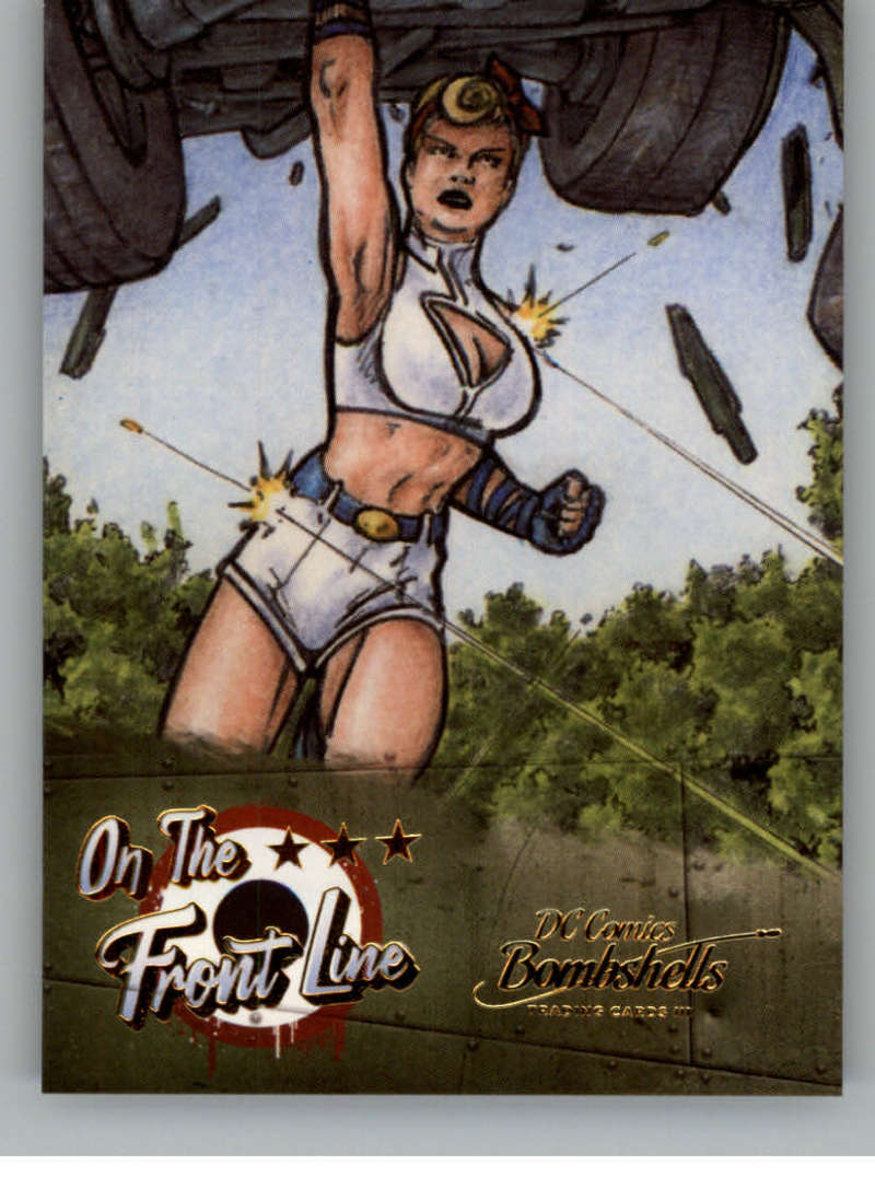 2019 Cryptozoic DC Bombshells Series 3 On the Front Line Deca Gold