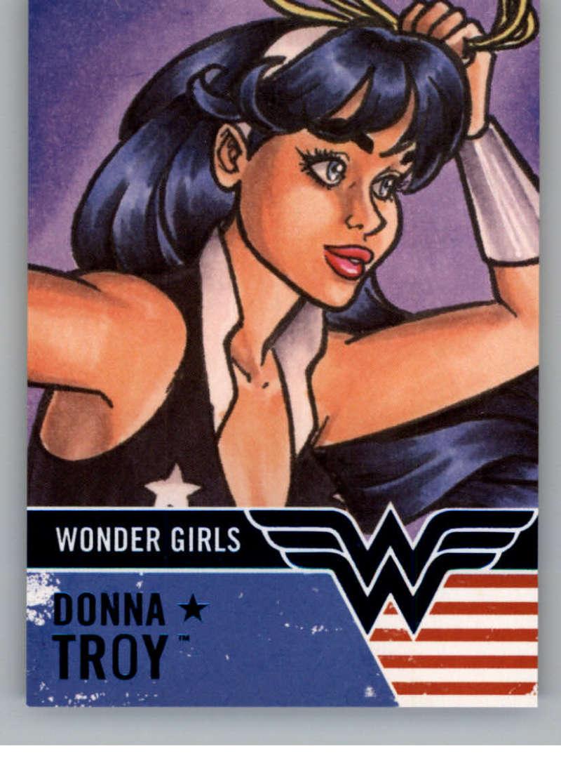 2019 Cryptozoic DC Bombshells Series 3 Wonder Girls