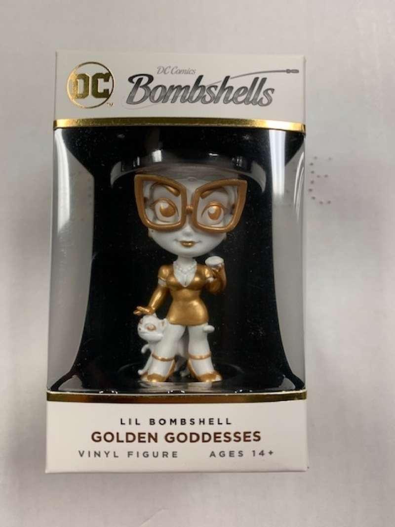 2019 Cryptozoic DC Bombshells Series 3 Golden Goddess Variant Vinyl Figures