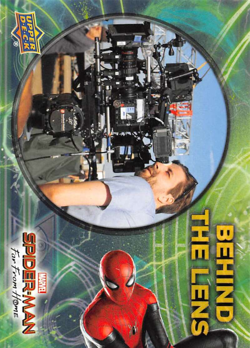 2019 Upper Deck Spider-Man Far From Home Behind The Lens