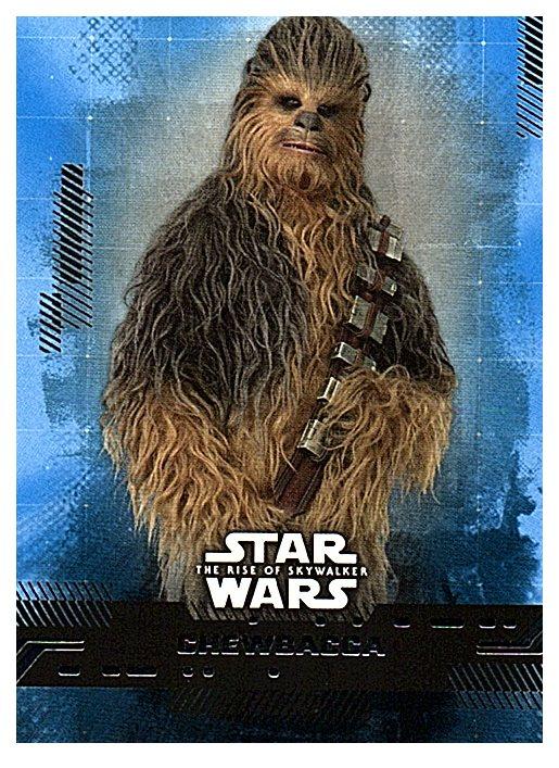 2019 Topps The Rise of Skywalker Series 1 Blue