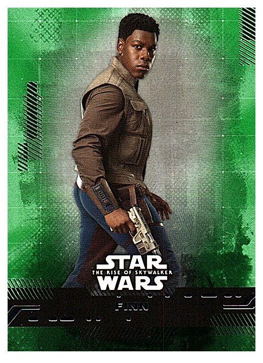 2019 Topps The Rise of Skywalker Series 1 Green