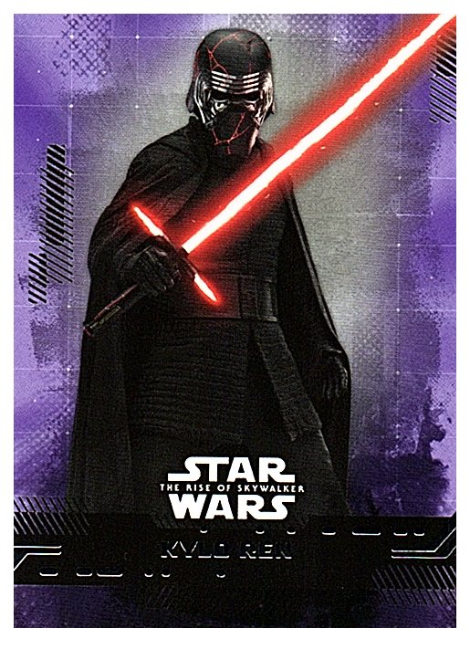 2019 Topps The Rise of Skywalker Series 1 Purple
