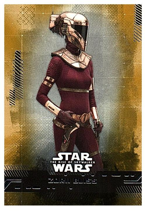 2019 Topps The Rise of Skywalker Series 1 Gold