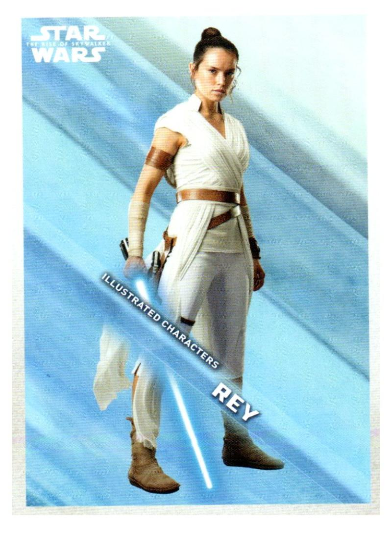 2019 Topps The Rise of Skywalker Series 1 Illustrated Characters