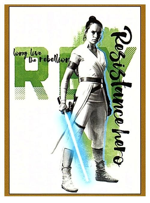 2019 Topps The Rise of Skywalker Series 1 Long Live the Resistance Gold