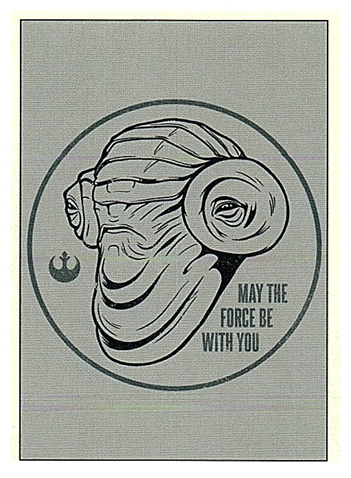 2019 Topps The Rise of Skywalker Series 1 May the Force Be With You