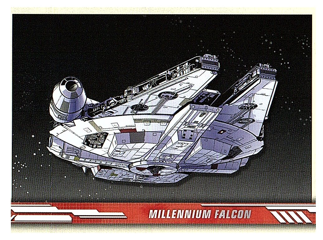 2019 Topps The Rise of Skywalker Series 1 Ships�and Vehicles