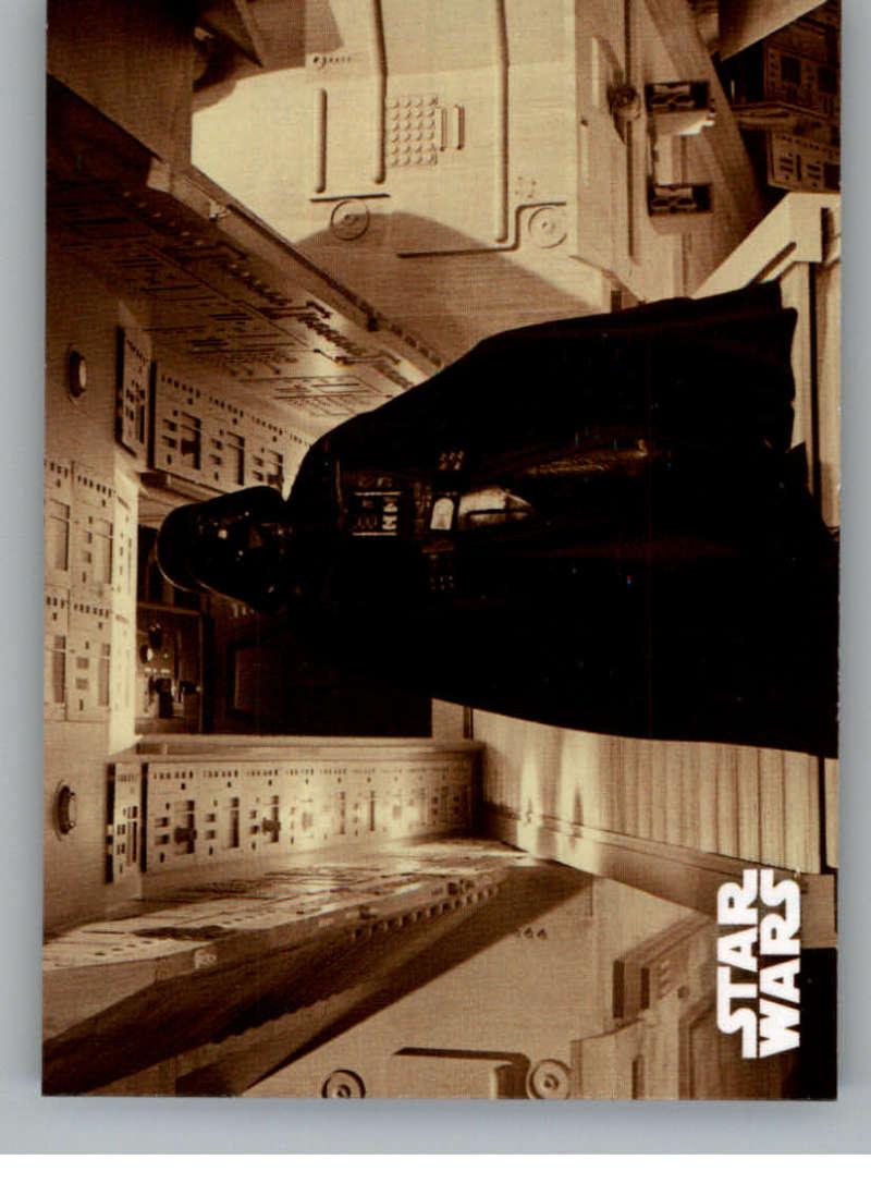 2020 Topps Star Wars Return of the Jedi Black and White Sepia