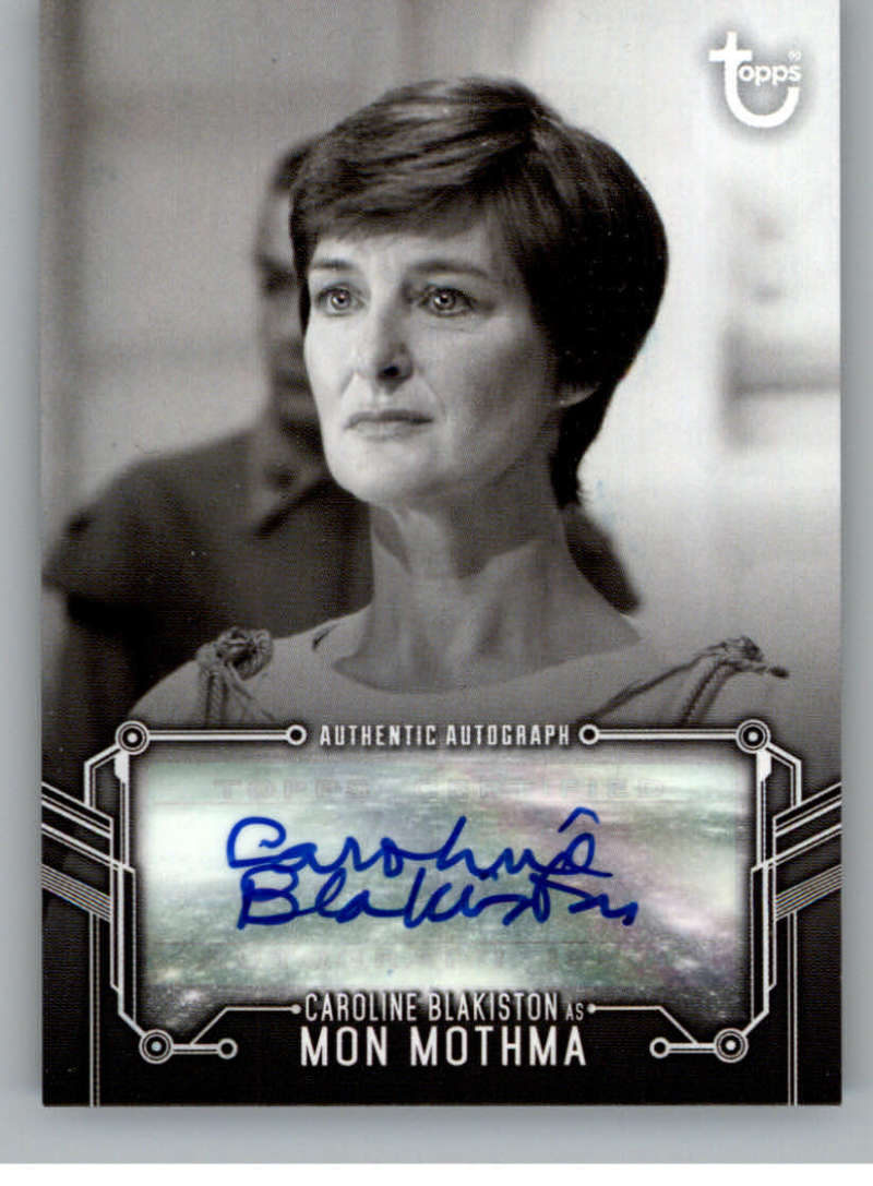 2020 Topps Star Wars Return of the Jedi Black and White Autographs
