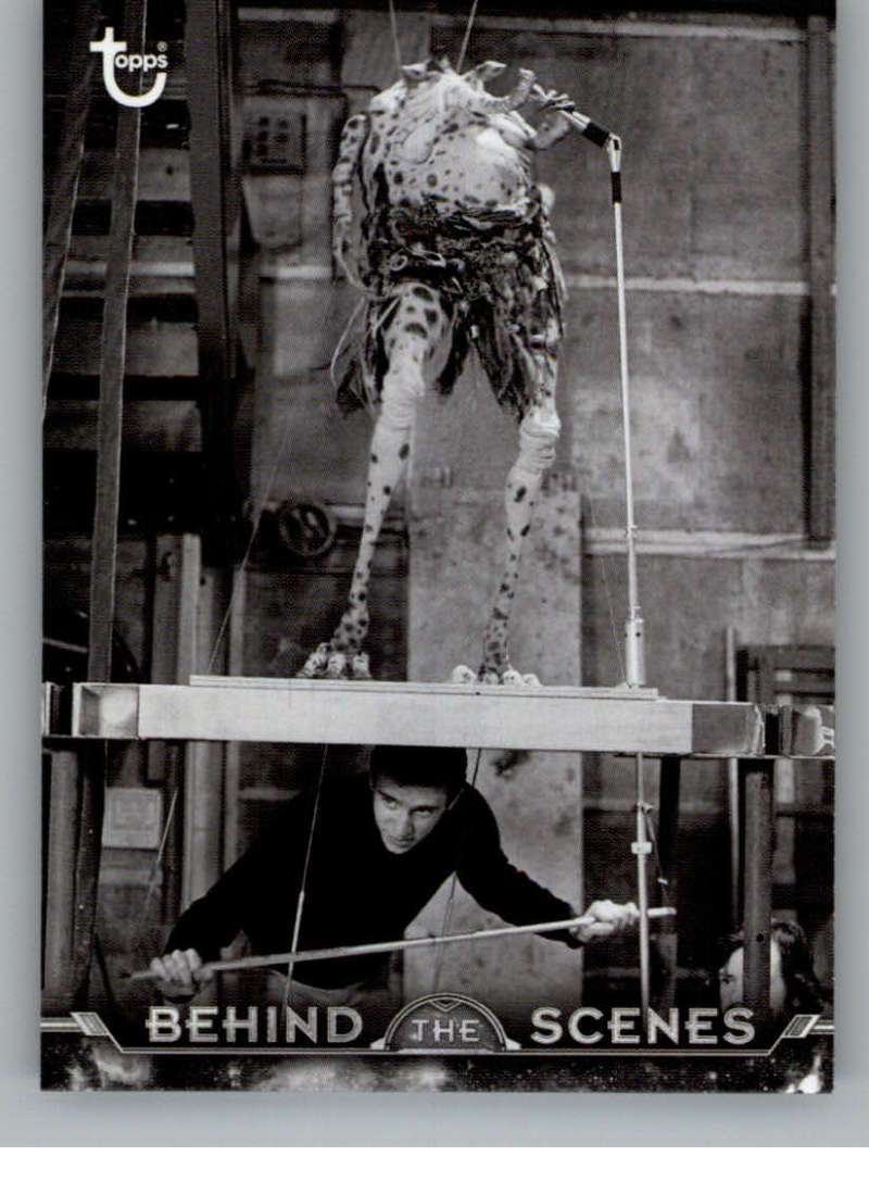 2020 Topps Star Wars Return of the Jedi Black and White Behind the Scenes