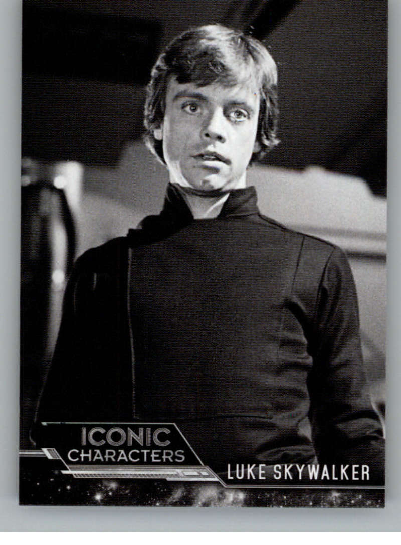 2020 Topps Star Wars Return of the Jedi Black and White Iconic Characters