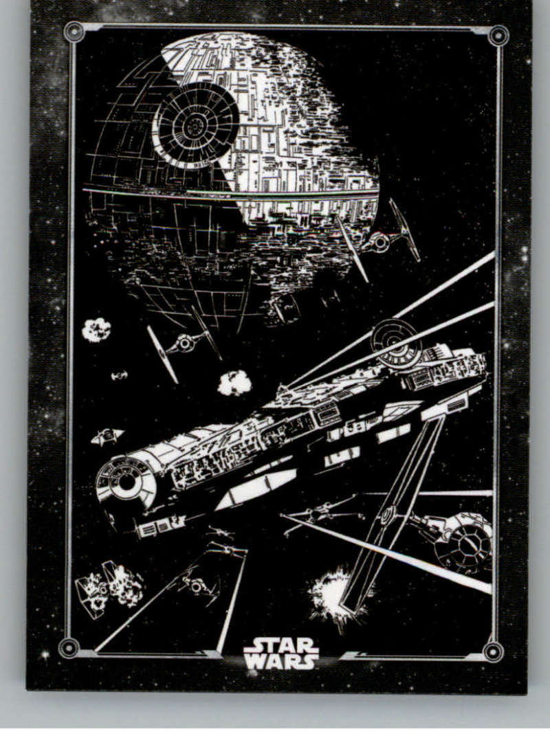 2020 Topps Star Wars Return of the Jedi Black and White Posters