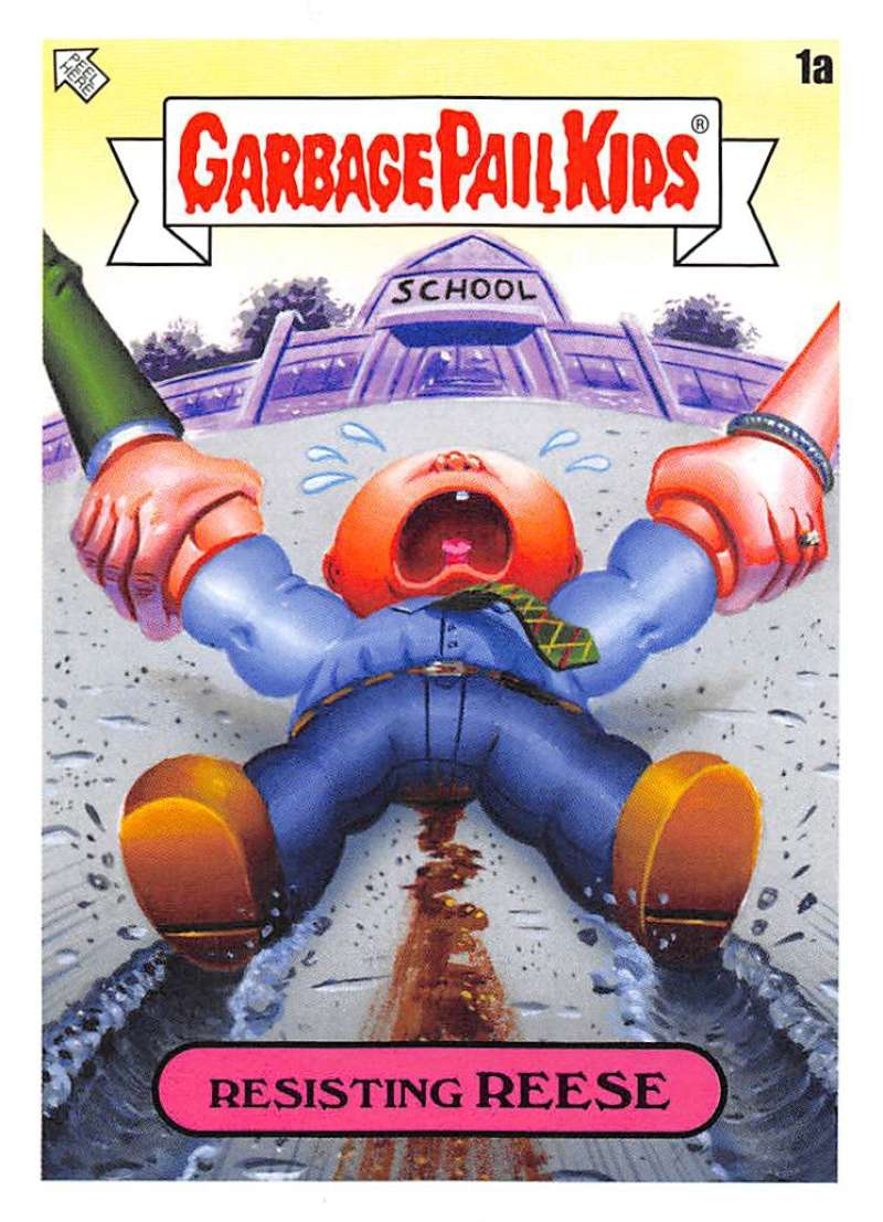 2020 Topps Garbage Pail Kids Late to School A Names