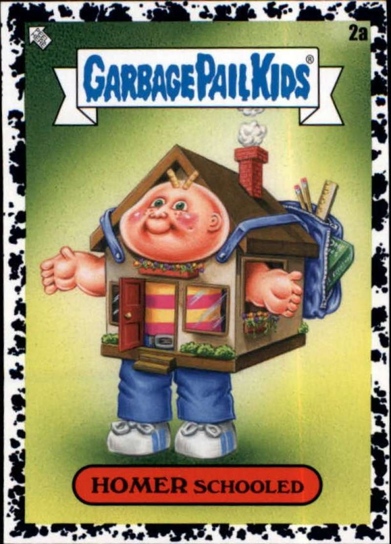 2020 Topps Garbage Pail Kids Late to School A Names Bruised Black