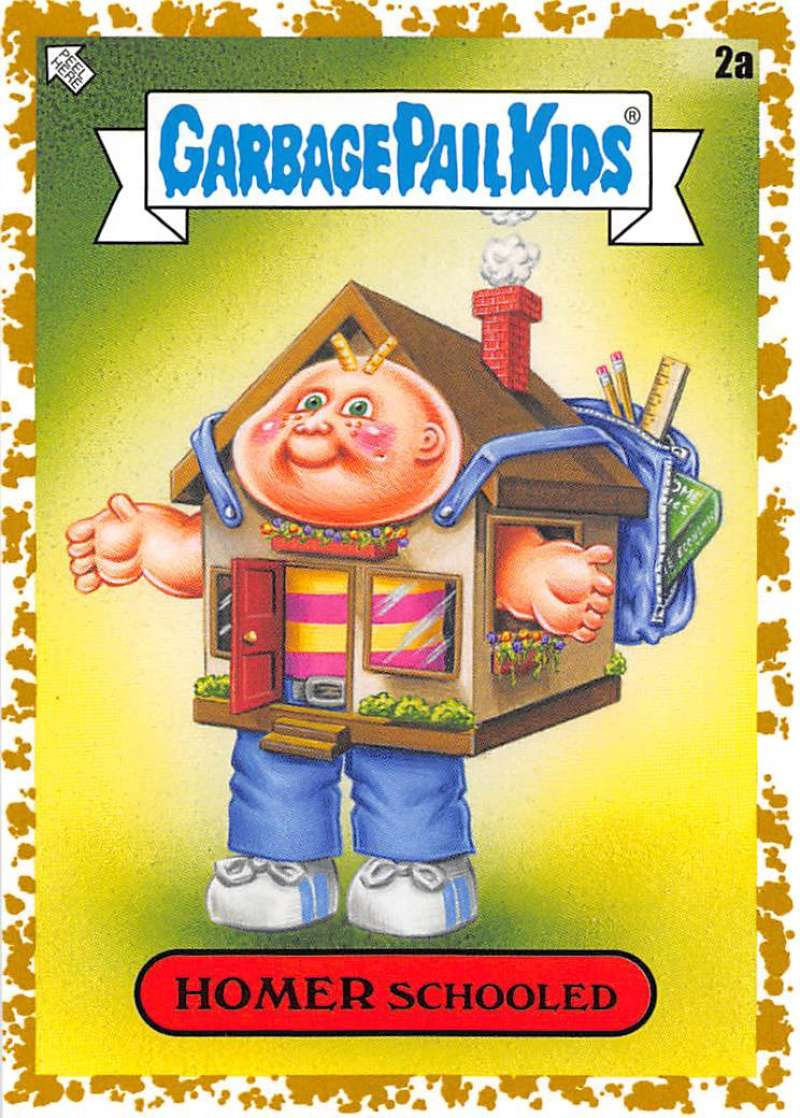 2020 Topps Garbage Pail Kids Late to School A Names Fool's Gold