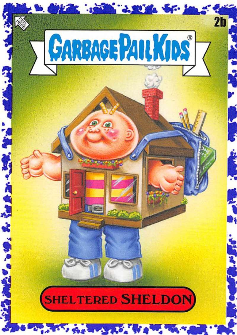 2020 Topps Garbage Pail Kids Late to School B Names Jelly Purple