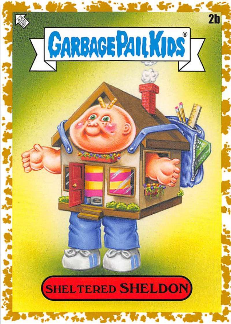 2020 Topps Garbage Pail Kids Late to School B Names Fool's Gold