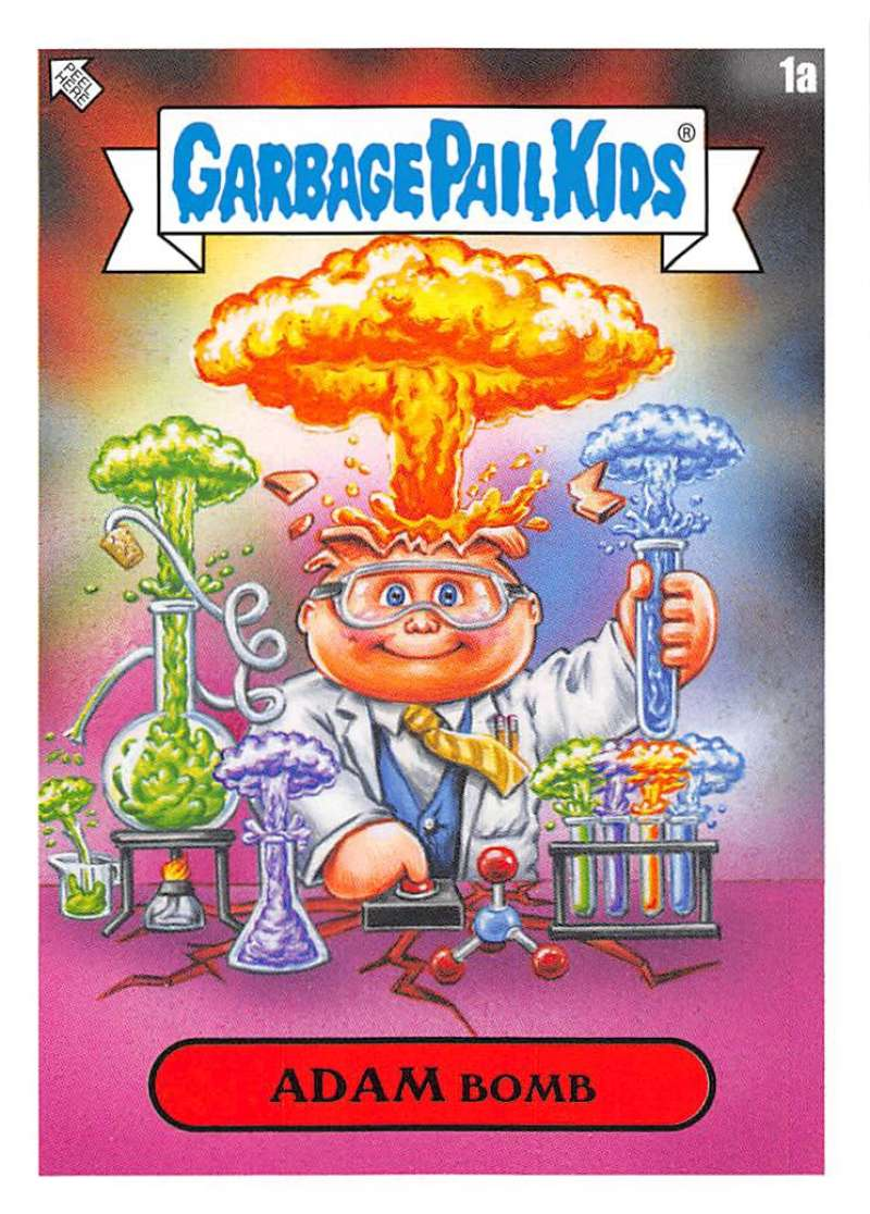 2020 Topps Garbage Pail Kids Late to School Faculty Lounge