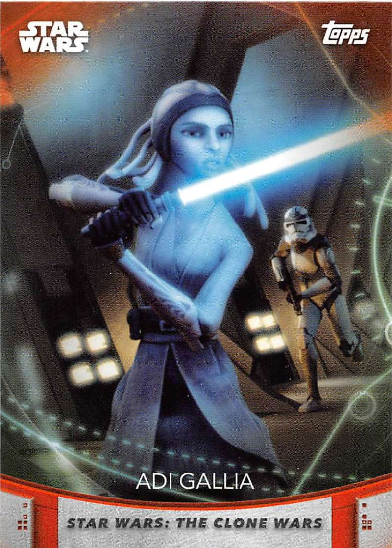 2020 Topps Women of Star Wars Orange