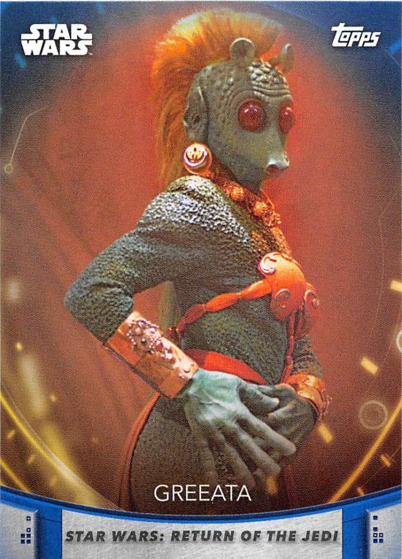 2020 Topps Women of Star Wars Blue