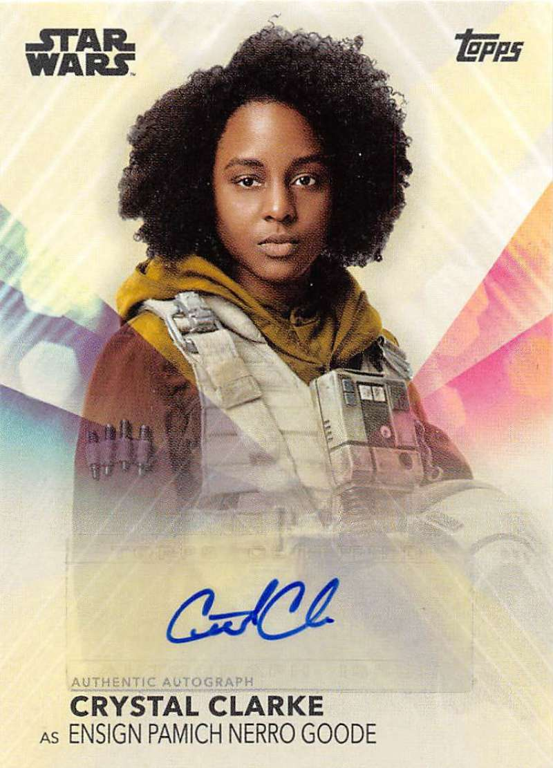 2020 Topps Women of Star Wars Autographs