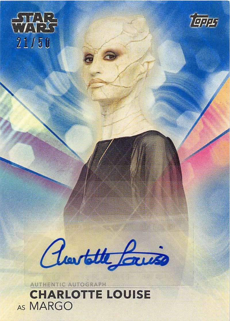 2020 Topps Women of Star Wars Autographs Blue