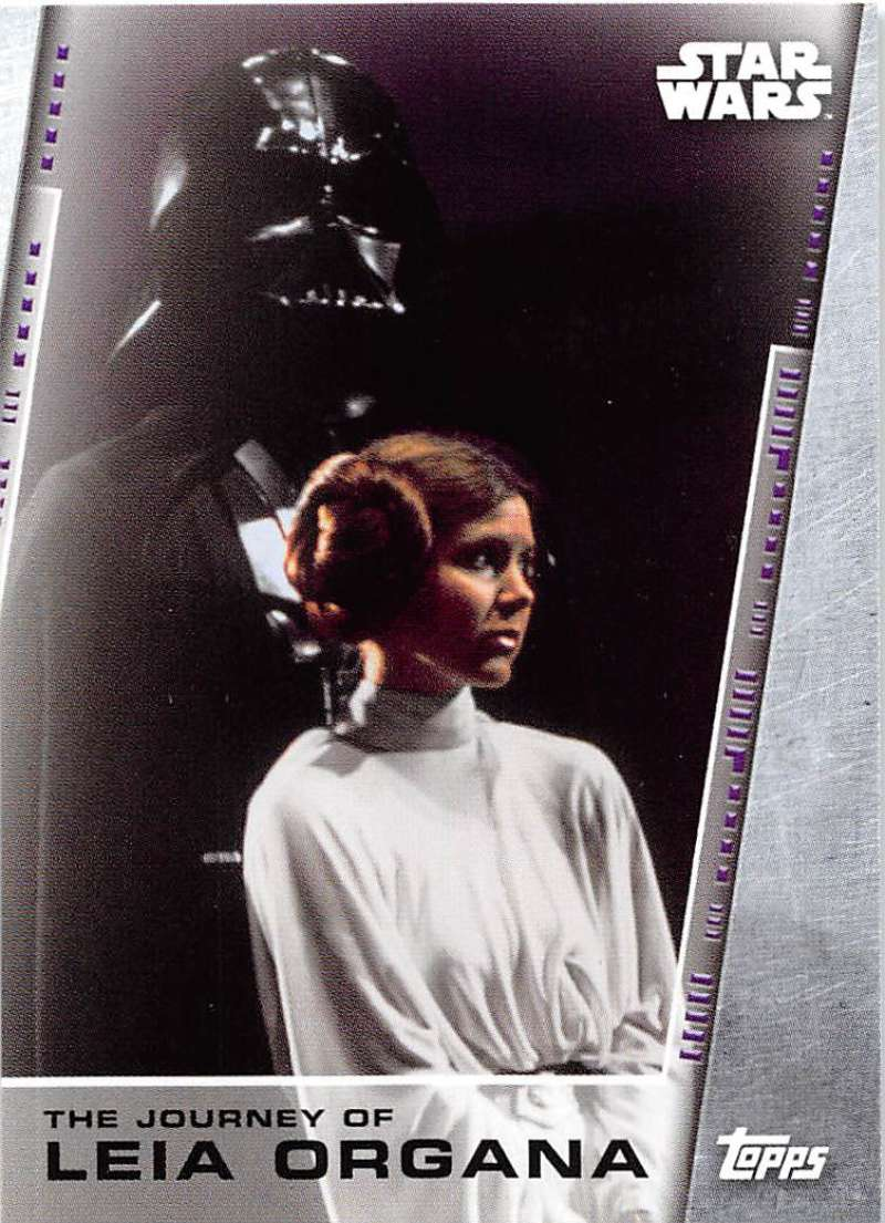2020 Topps Women of Star Wars Legacy of Leia