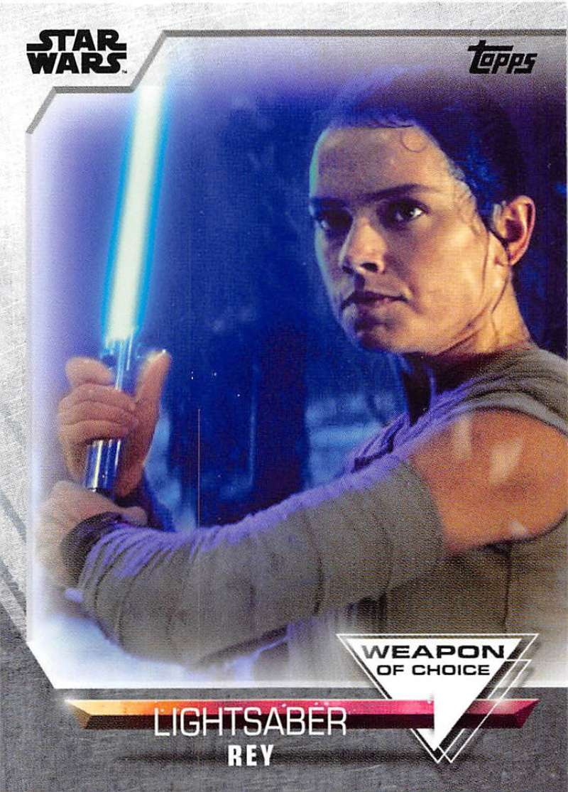 2020 Topps Women of Star Wars Weapon of Choice