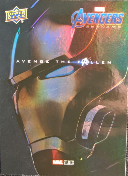 2020 Upper Deck Avengers Endgame and Captain Marvel Avenge The Fallen