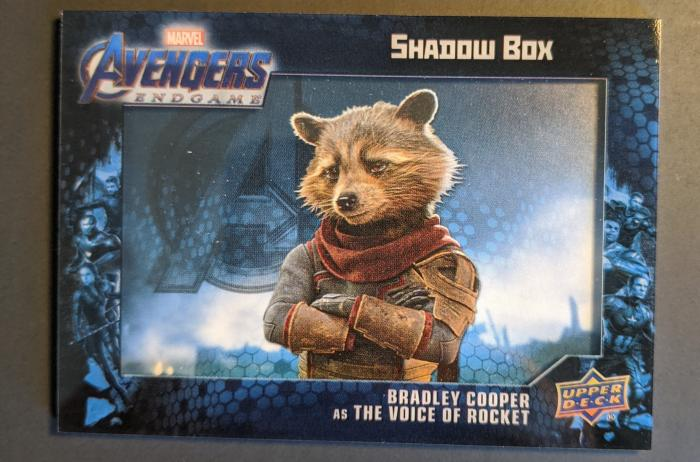 2020 Upper Deck Avengers Endgame and Captain Marvel Shadowbox